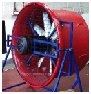 Fan Used During Dyno Testing Hinckley Leicestershire