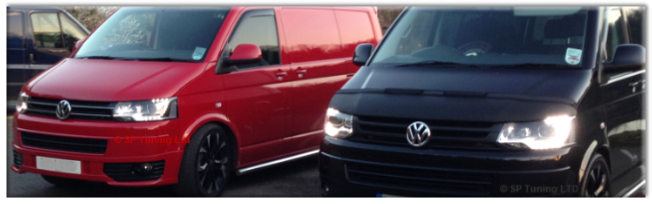 VW Transporter Remaps SP Tuning Ltd Hinckley